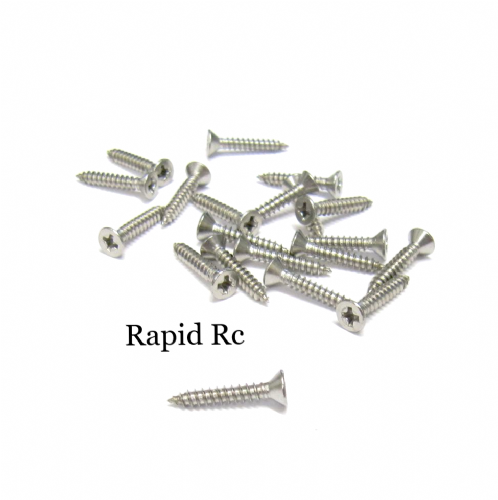 2.2mm x 13mm Stainless steel Counter Sunk  Phillips Head Self Tapping screw